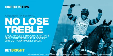 EXCLUSIVE Offer: Last chance to win £500 on my Treble or your money back