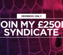 VIP Members: Join this week's £250,000 Goals Syndicate
