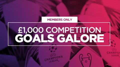 VIP Members: £1,000 Giveaway Up for Grabs if it's Goals Galore Tonight!
