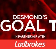 Desmond's Two 2s Goals Tips: Villa set to be thrillers
