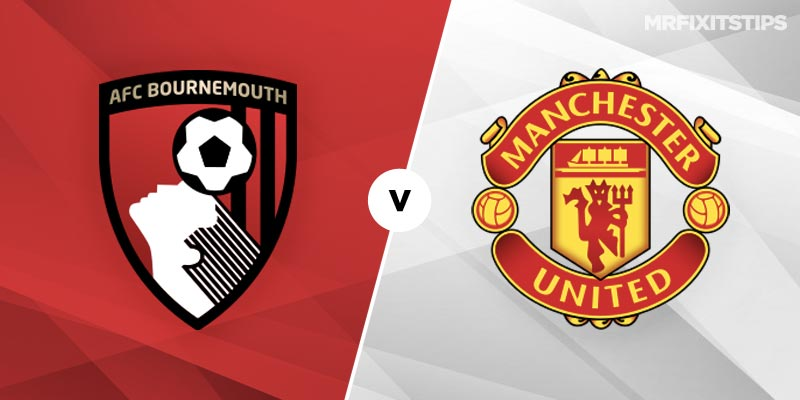 Image result for bournemouth vs man united