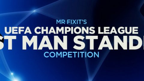 £250 Champions League Last Man Standing Competition: Are You In?