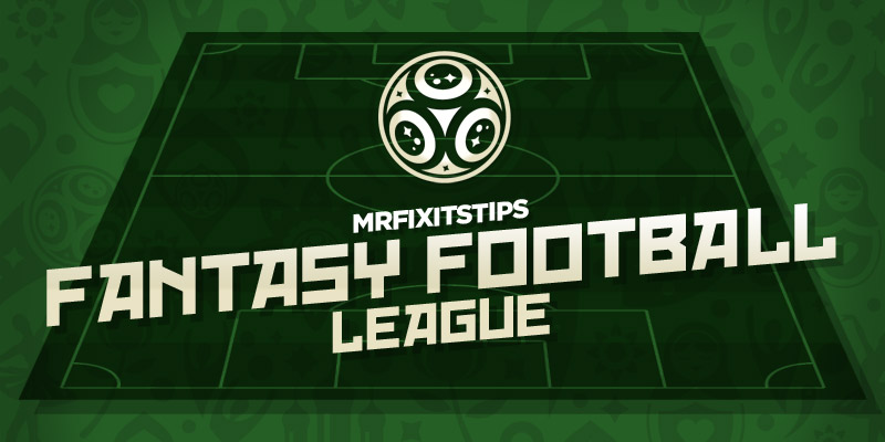 Join Mr Fixit's £250 World Cup Fantasy League - MrFixitsTips