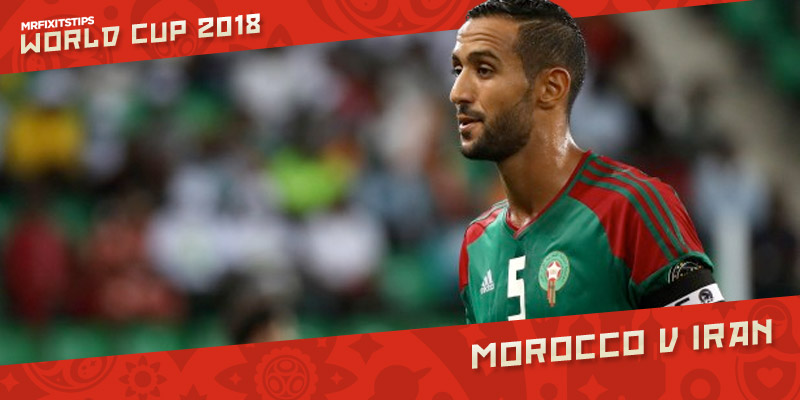 Morocco v Iran Betting Preview | Free World Cup Tips | MrFixitsTips