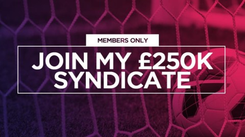 VIP Members: Join this week's £250,000 Over 2.5 Goals Syndicate