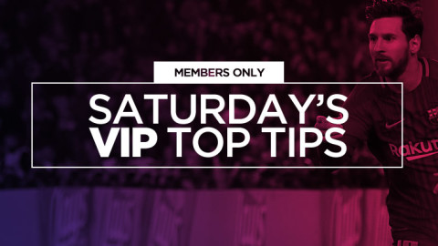 VIP Members Only: Saturday's VIP Top Tips