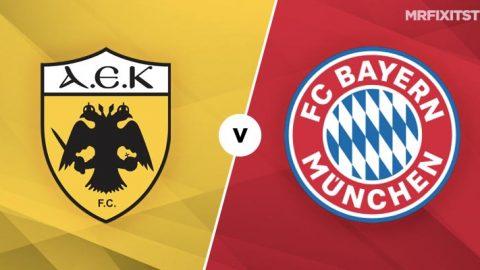 Oct 23: AEK Athens v Bayern Munich Betting Tips