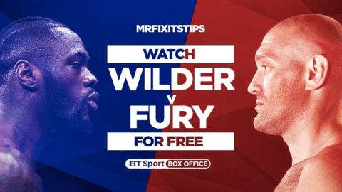 Watch Deontay Wilder v Tyson Fury Live on BTSport Box Office for FREE!