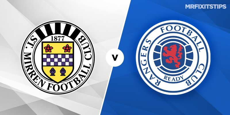St Mirren vs Rangers Betting Tips & Preview