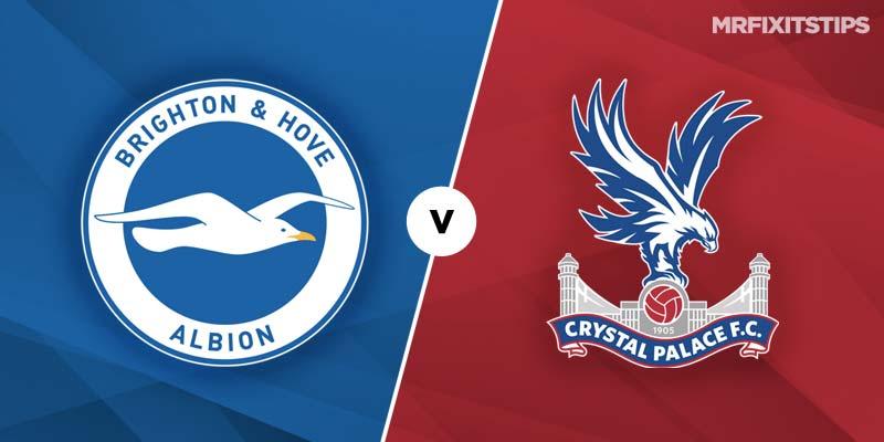 Kết quả hình ảnh cho Brighton & Hove Albion vs Crystal Palace
