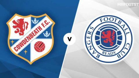 Cowdenbeath vs Rangers