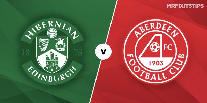 Hibernian vs Aberdeen