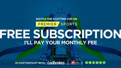 Watch the Scottish Cup for Free on Premier Sports this weekend