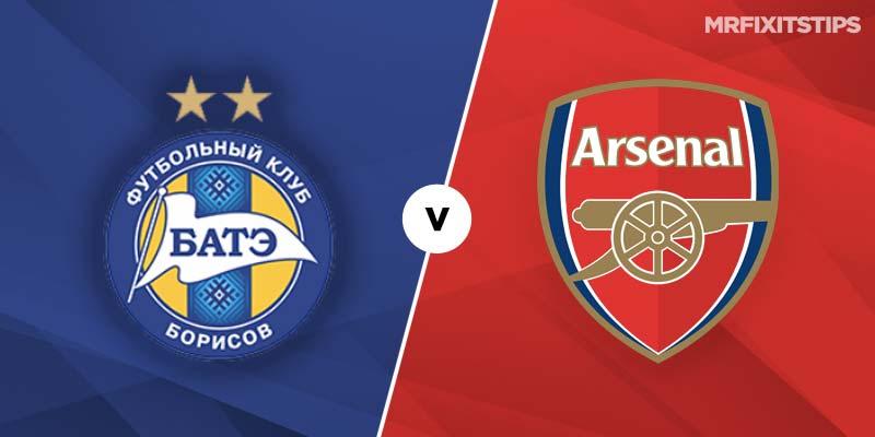 BATE Borisov vs Arsenal Betting Tips & Preview