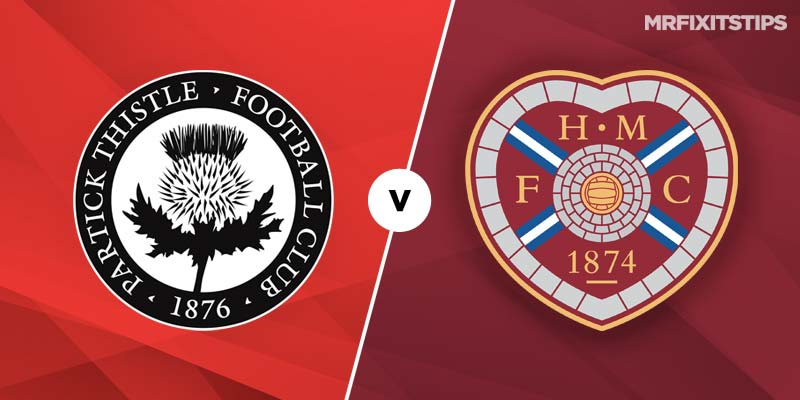 Partick Thistle vs Hearts Betting Tips & Preview