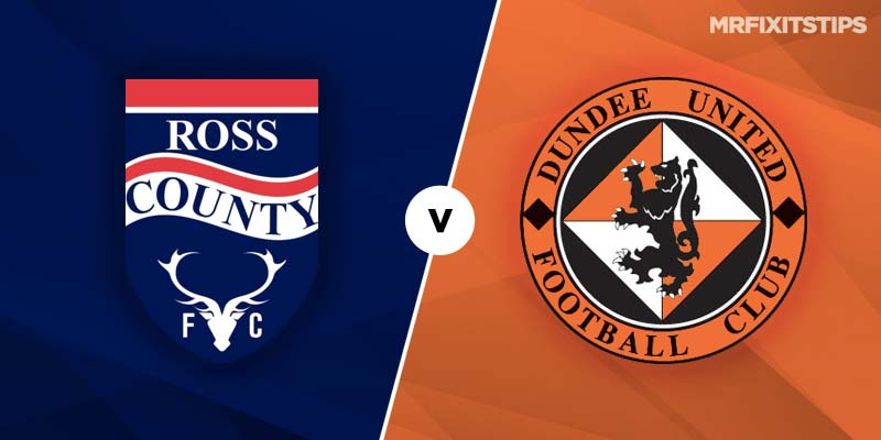 Ross County vs Dundee United Betting Tips & Preview