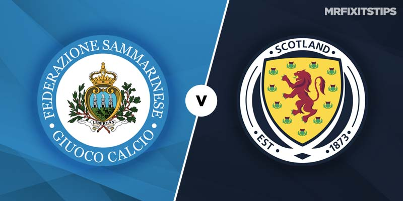 San Marino vs Scotland Betting Tips & Preview
