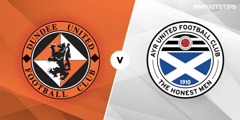 Dundee United vs Ayr United Betting Tips & Preview