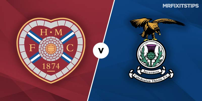 Hearts v Inverness Caledonian Thistle Betting Tips & Preview