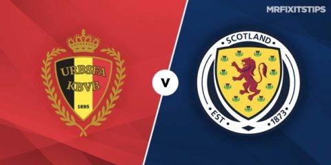 Mr Fixit's Belgium vs Scotland Betting Tips & Preview