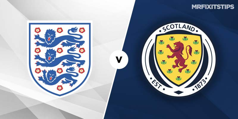 England vs. Scotland - Football Match Report