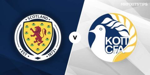 Mr Fixit's Scotland vs Cyprus Betting Tips & Preview