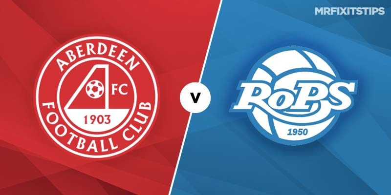 Aberdeen vs RoPS Rovaniemi Betting Tips and Preview