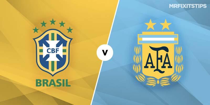 Brazil vs Argentina Betting Tips & Preview