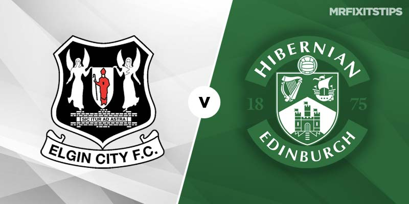 Elgin City vs Hibernian Betting Tips & Preview