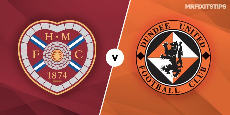Dundee United vs Hearts Betting Tips & Preview