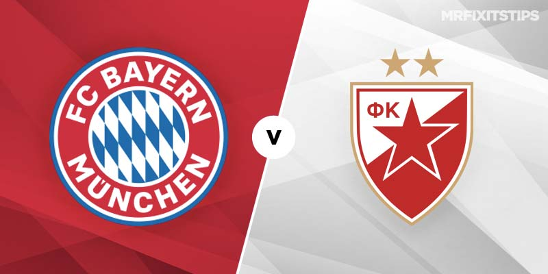 Bayern Munich v Red Star Belgrade Betting Tips & Preview