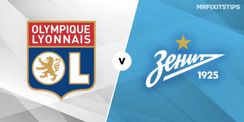 Lyon vs Zenit St Petersburg Betting Tips & Preview