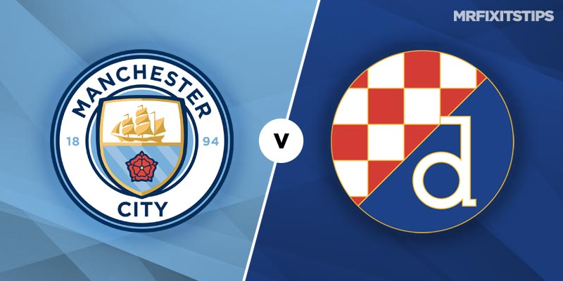 Manchester City vs Dinamo Zagreb Betting Tips & Preview