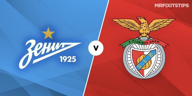 Zenit St Petersburg vs Benfica Betting Tips & Preview