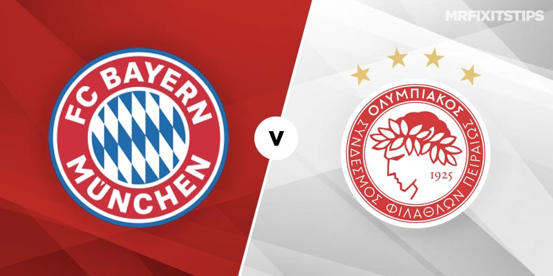 Bayern Munich vs Olympiakos Betting Tips and Predictions