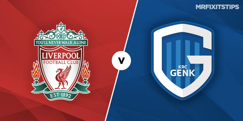 Liverpool vs Genk Betting Tips and Predictions