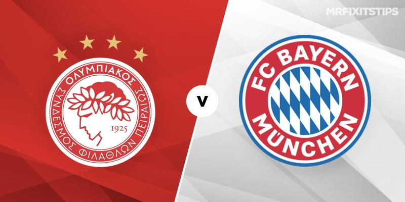 Olympiakos vs Bayern Munich Betting Tips and Predictions
