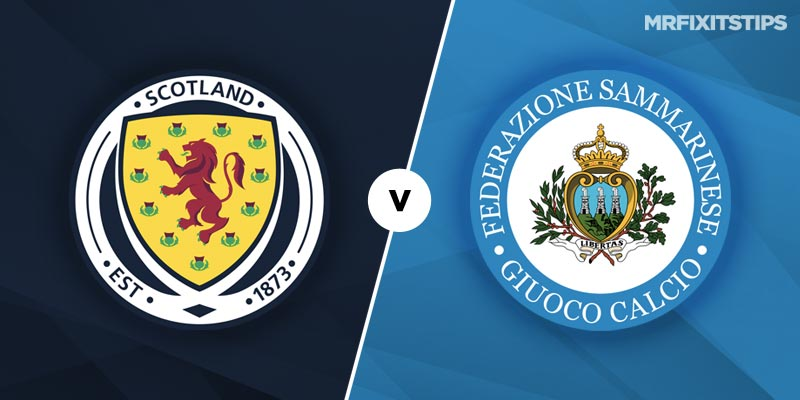 Scotland vs San Marino Betting Tips and Predictions