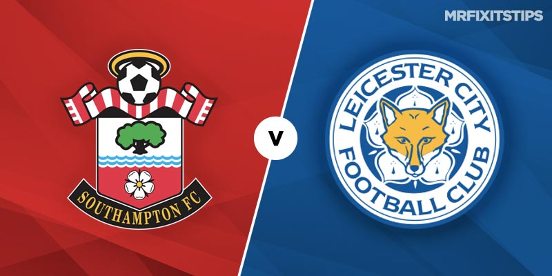 Leicester will go second in the Premier League with win over Southampton