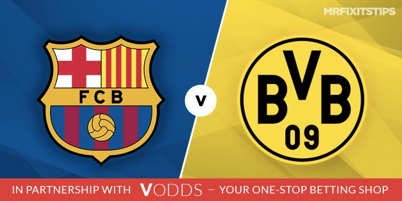 Barcelona vs Borussia Dortmund Betting Tips and Predictions