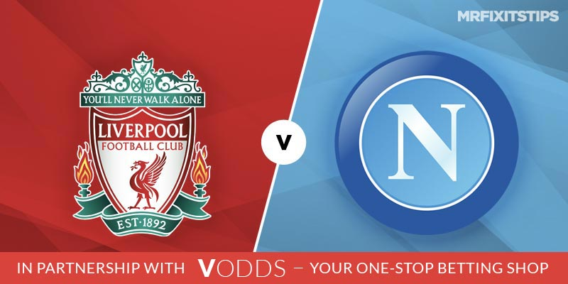 Liverpool vs Napoli Betting Tips and Predictions