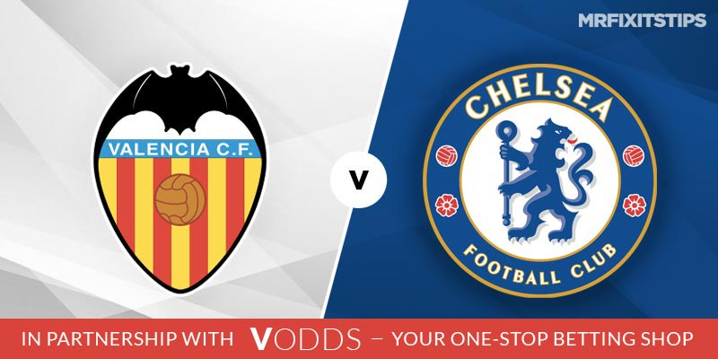 Valencia vs Chelsea Betting Tips and Predictions