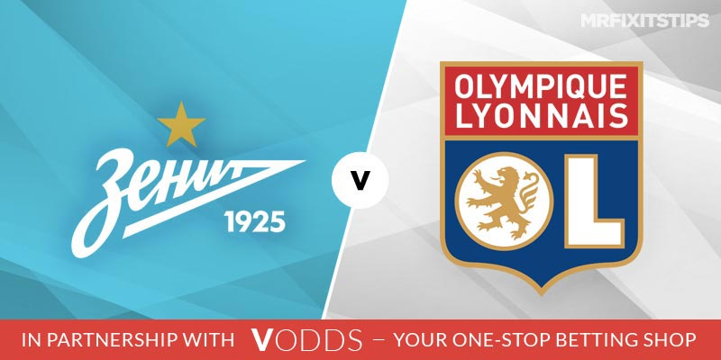 Zenit St Petersburg vs Lyon Betting Tips and Predictions