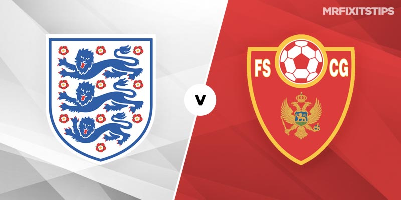 England vs Montenegro Betting Tips and Predictions