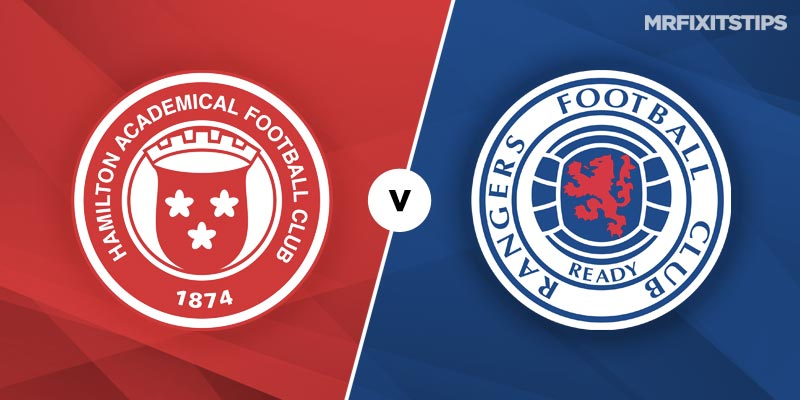 Hamilton vs Rangers Betting Tips and Predictions