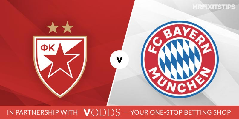 Red Star Belgrade vs Bayern Munich Betting Tips and Predictions
