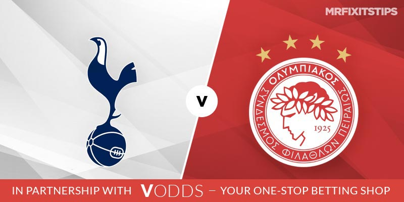Tottenham vs Olympiakos Betting Tips and Predictions