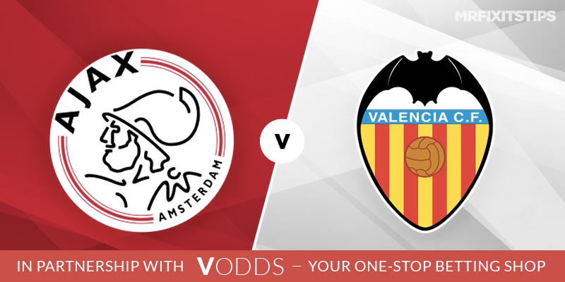 Ajax vs Valencia Betting Tips and Predictions