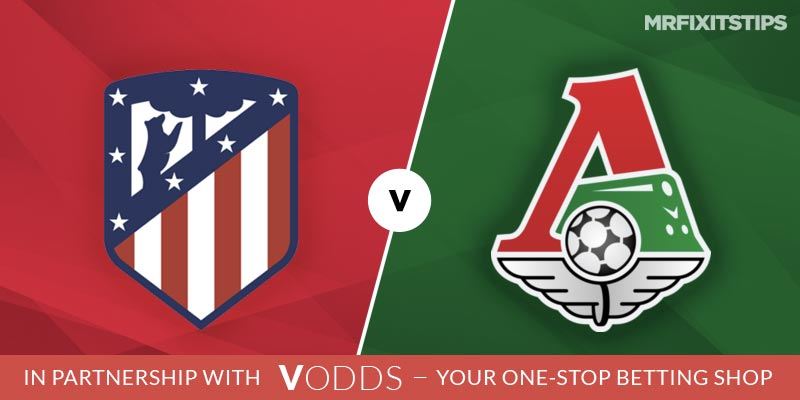 Atletico Madrid vs Lokomotiv Moscow Betting Tips and Predictions