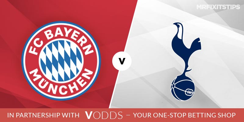 Bayern Munich vs Tottenham Betting Tips and Predictions